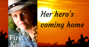 first kiss, sweet western romance, kindle unlimited,