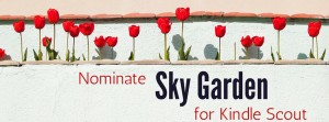 kindle scout, sky garden, romantic suspense,
