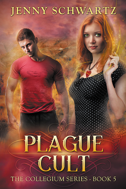 Plague Cult, paranormal romance thriller,