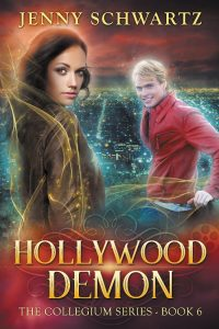 Hollywood Demon by Jenny Schwartz -- cover