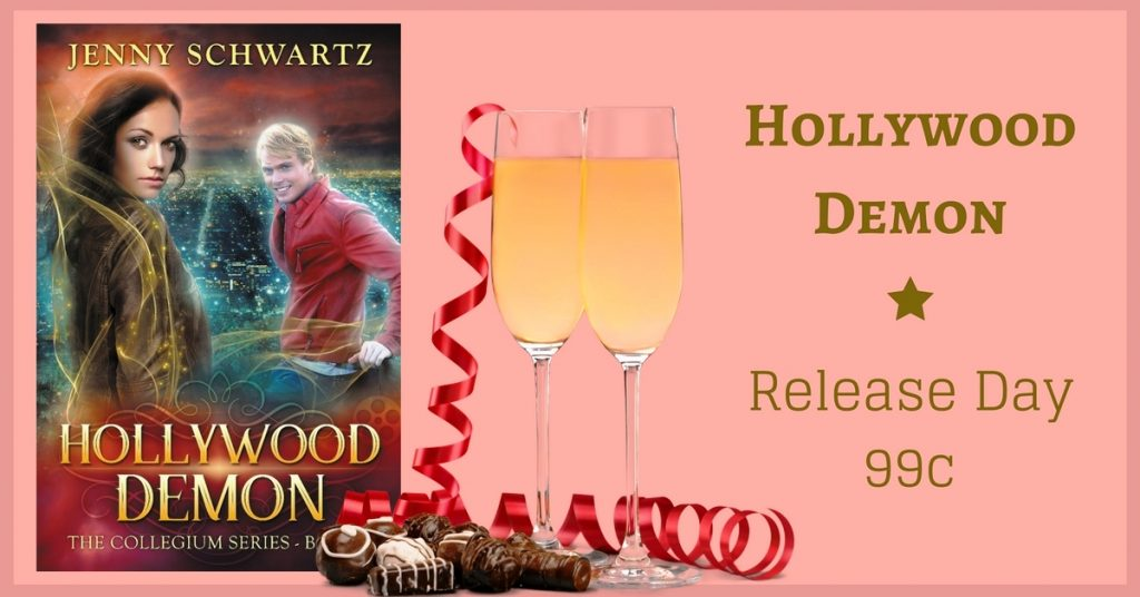 Hollywood Demon, Jenny Schwartz, kindle unlimited, illuminati in hollywood, demonic Hollywood, paranormal romance,