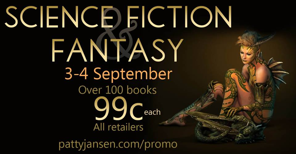 science fiction and fantasy sale, book promotion,